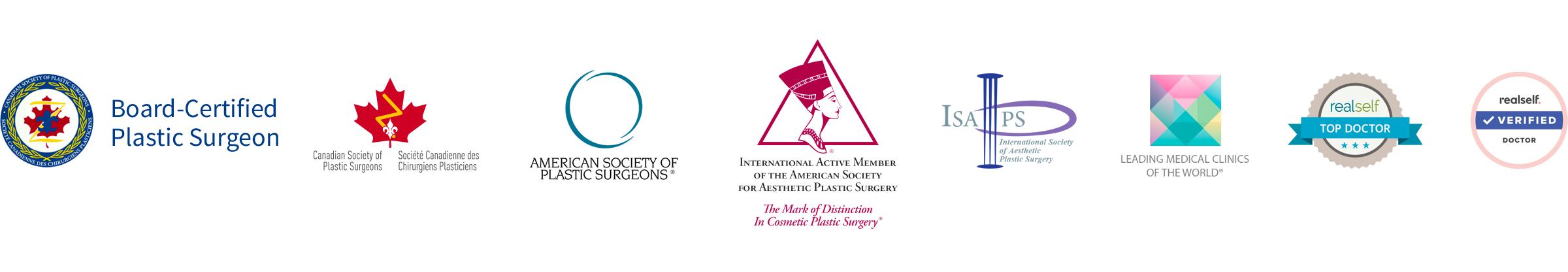Board-Certified Toronto Plastic Surgeon, Member of CSPS, ASPS, ASAPS, ISAPS