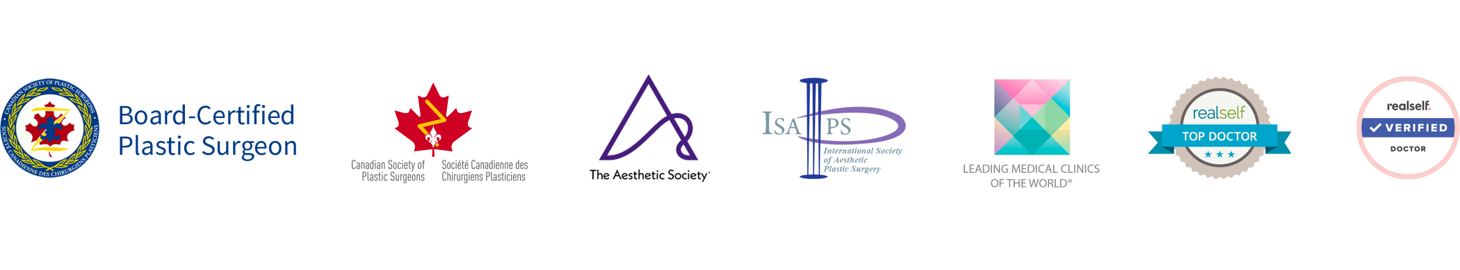 Board-Certified Toronto Plastic Surgeon, Member of CSPS,  ASAPS, ISAPS